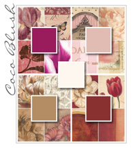 Coco Blush Color Palette