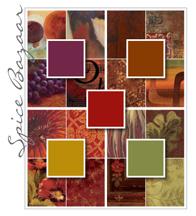 Spice Bazaar Color Palette
