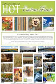 Custom Printing Hot List