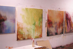 Jeni Lee's studio
