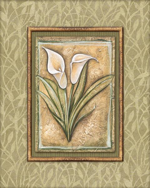 Peaceful Flowers IV