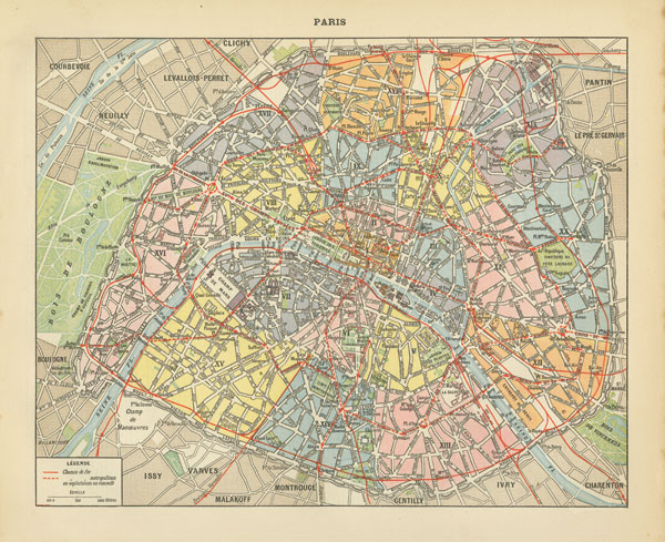 French Map I