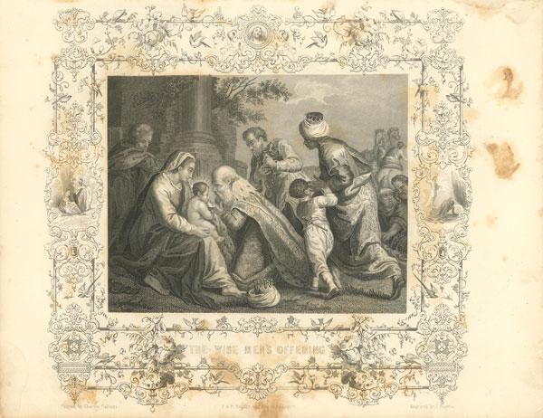 Faith Engraving VIII