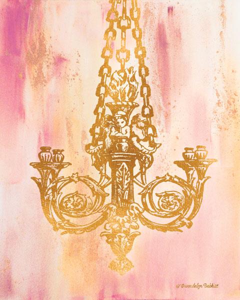 Pink & Gold II