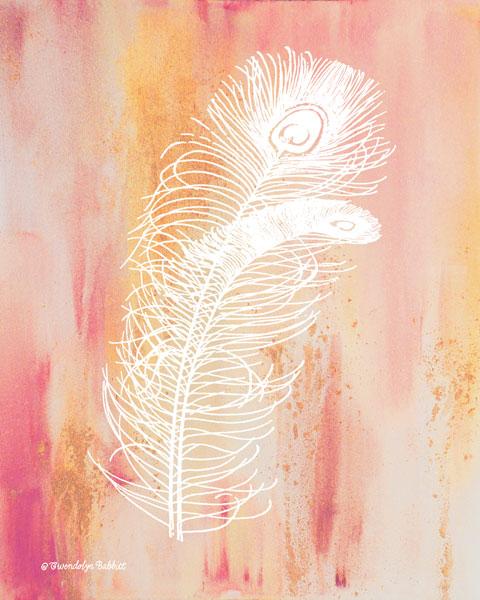 Whimsical Feathers II