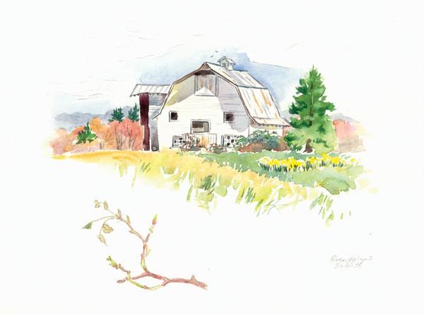 Rigefield Barn I