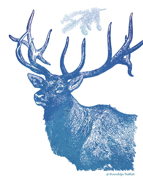 Indigo Deer II