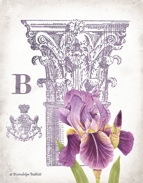 Column & Flower B