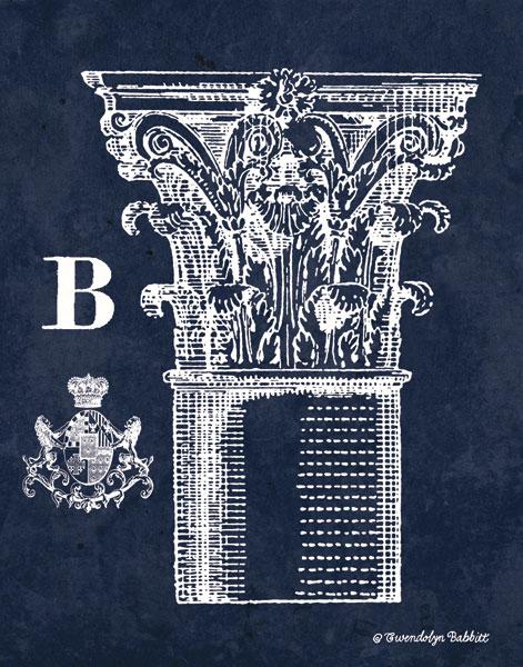 White Column B