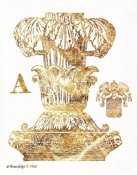 Gold Column A