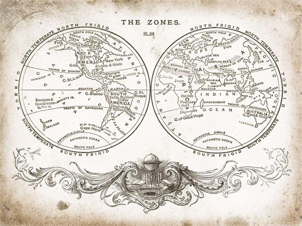 Zone World Map I