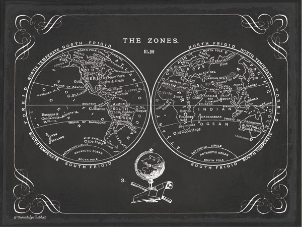 Zone World Map III