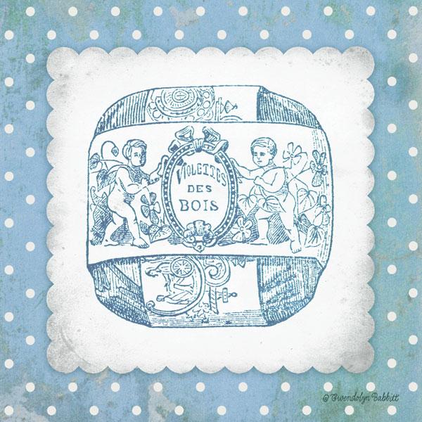French Soap Blue I