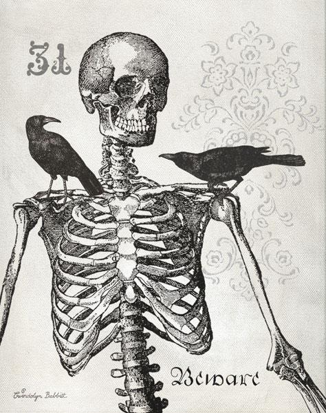 Skeleton & Crows