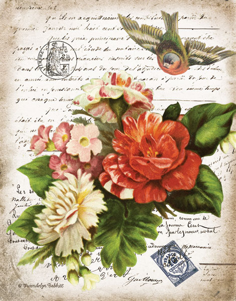 French Botanical I