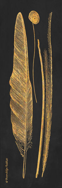 Gold Feathers III
