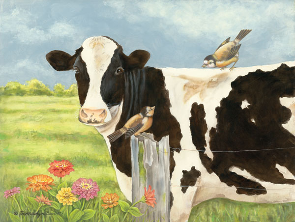 Spring Meadow Cow