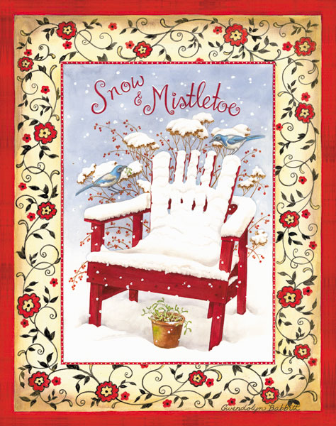 Snow & Mistletoe