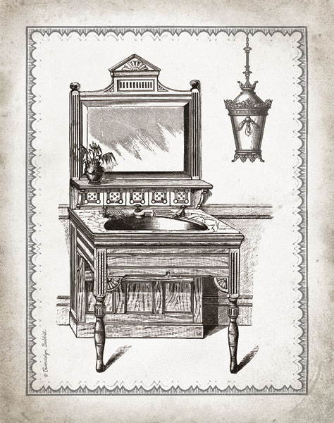 Victorian Sink I