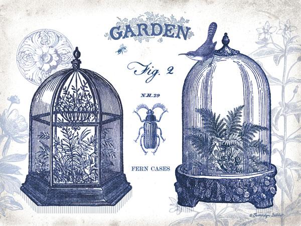 Garden Cloches Indigo