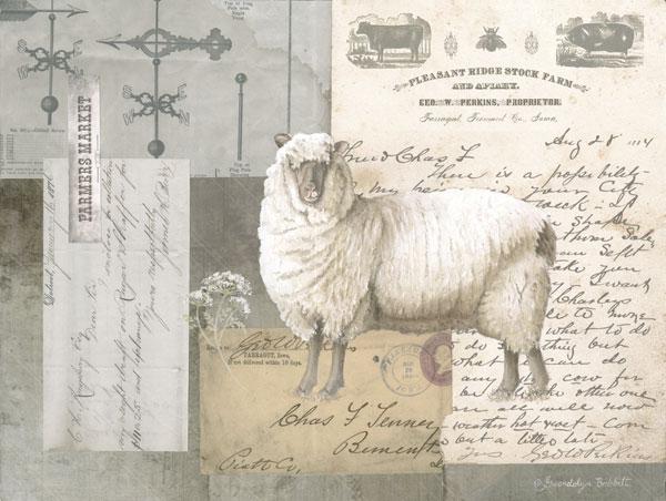 Sheep On Ephemera II