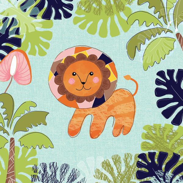 Jungle Lion Leaves
