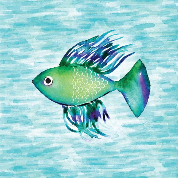 Deep Sea Green Fish