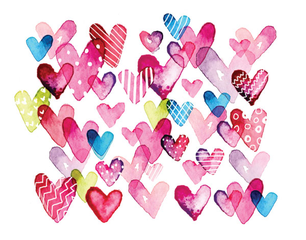 I Heart You Hearts