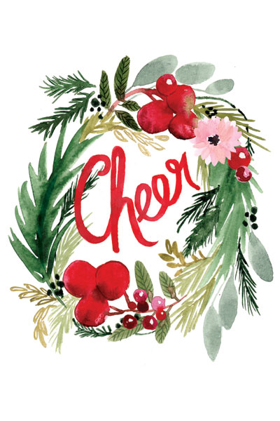 Cheer Wreath