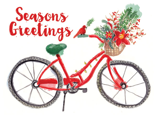 Christmas Bike