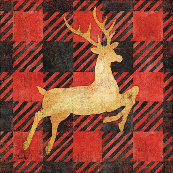 Buffalo Check Reindeer I