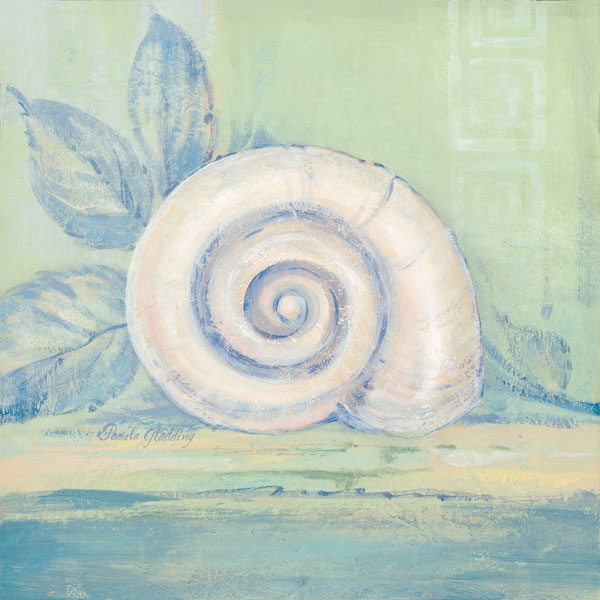 Tranquil Seashells III