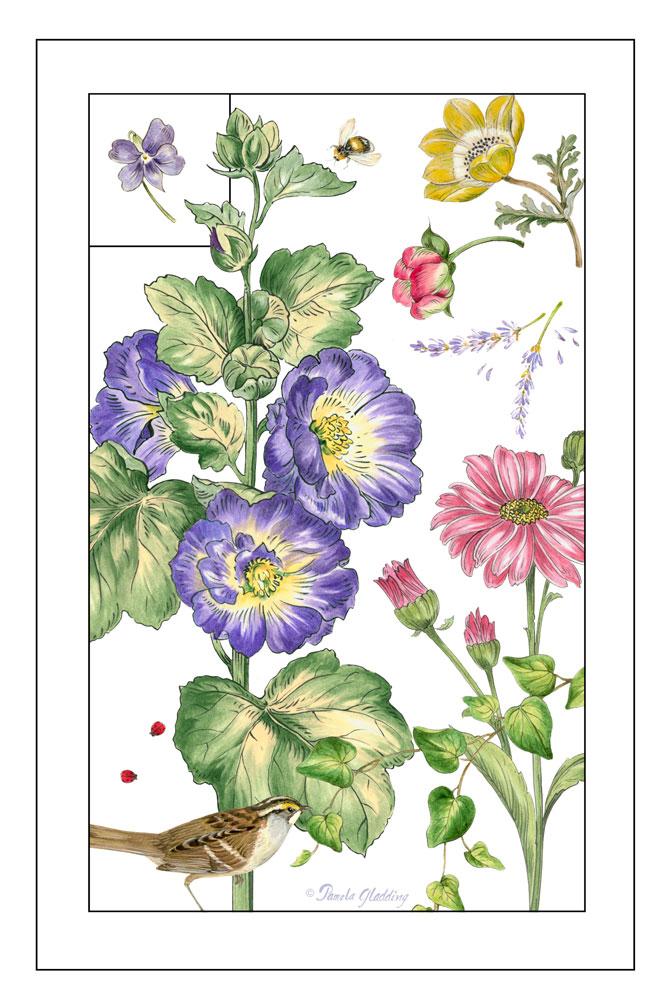 Print Botanical I