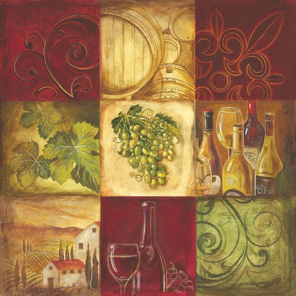 Tuscan Wine I