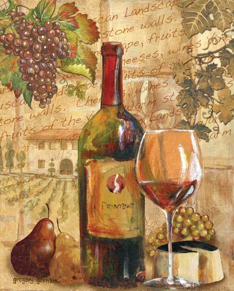 Wine Collage I