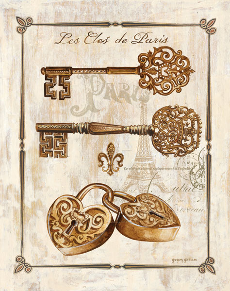 Keys to Paris I