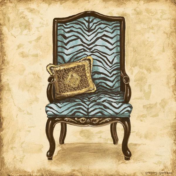 Blue Chair VI