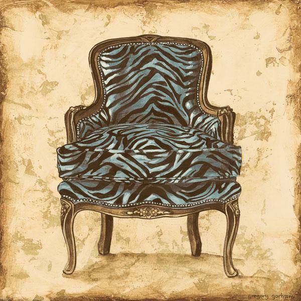 Blue Chair VII