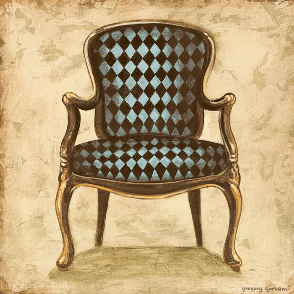 Blue Chair VIII