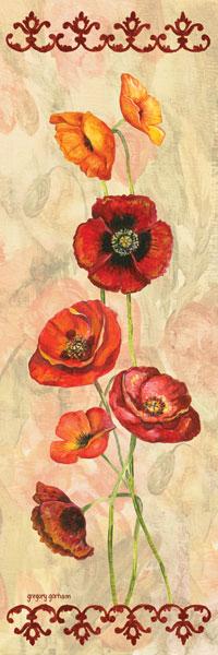Scarlet Poppies I