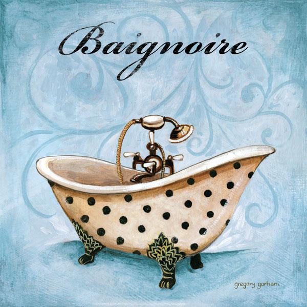 Blue Baignoire