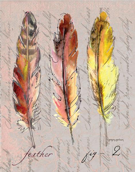 Three Feathers II