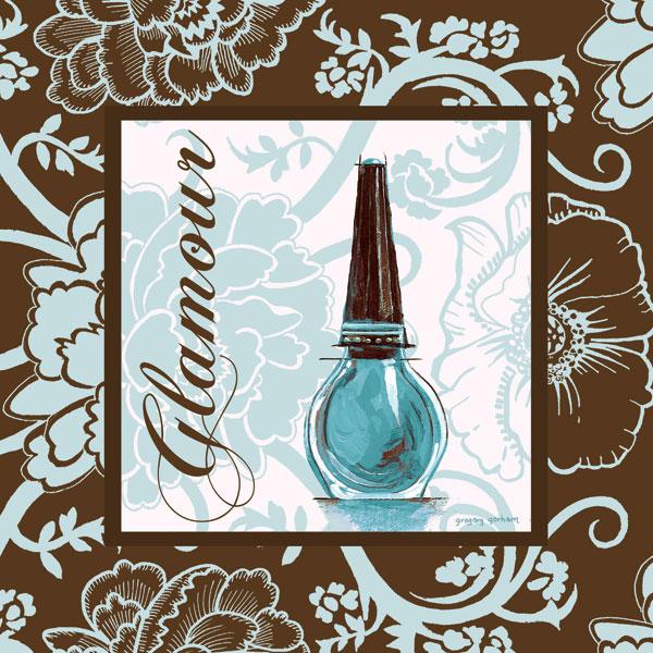 Fashion Blue Glamour