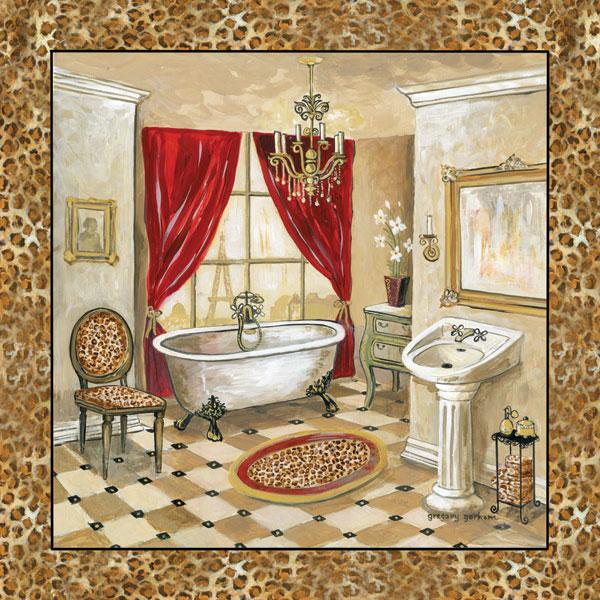 Leopard Parisian Bath II
