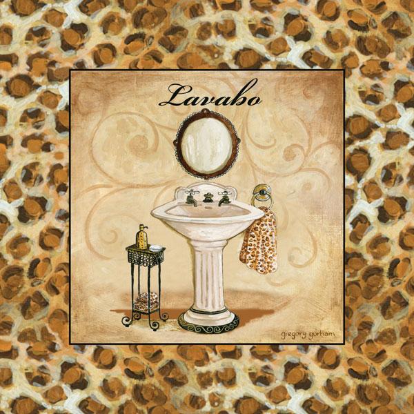 Leopard Lavabo