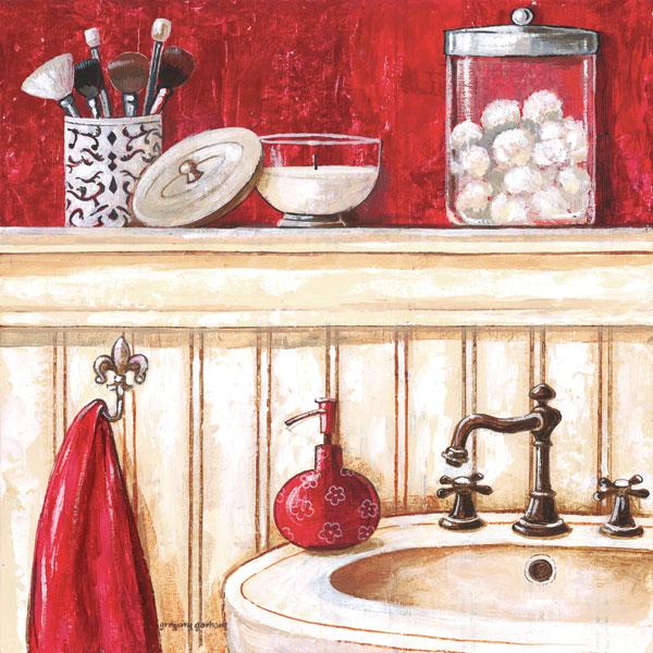 Red Bath II