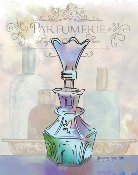 French Perfume Motif I