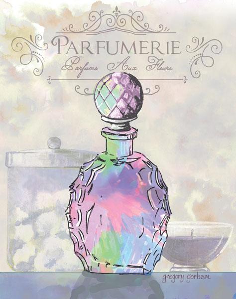French Perfume Motif II