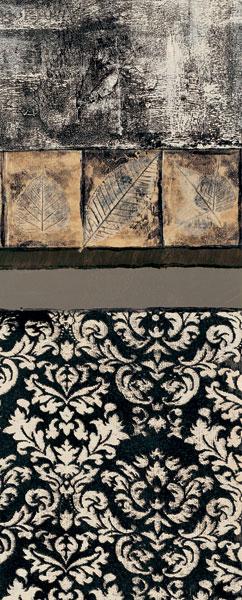 Nature's Damask Panel I