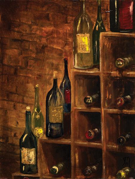 Racked Wine